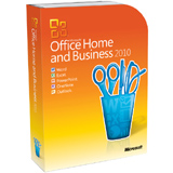 Microsoft Office 2010 Home and Business - 32/64-bit - Complete Product - 1 PC